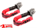 Shackle Set made of extra strong HMPE Rope Material 2.100 kg