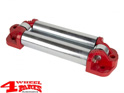 Winch Roller Fairlead Elite Series Red Universal Application