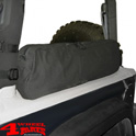 Saddle Bag in the roll Bar Wrangler YJ TJ JK year 92-18 2-doors