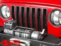 Insert Grill Screen Black ABS Plastic Jeep Wrangler TJ year 97-06