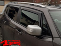 Rain Deflector Set 4 pce. Smoke Jeep Renegade BU year 14-18