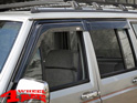 Rain Deflector Set 4 pce. Smoke Cherokee XJ year 84-01 4-doors