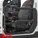 Element Doors Front Black with Mirrors Wrangler JL 18-19 2- or 4-doors