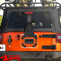 Third Brake Light Extension Kit Jeep Wrangler JK year 07-18