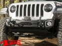 Front Bumper Arcus Stubby Steel Black Wrangler JL year 18-20