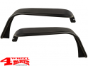 Flat Fender Flare Steel Tube Style Front Jeep Wrangler JK year 07-18