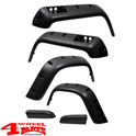 Fender Flare Set 12cm Pocket Style 6-pce. Jeep Wrangler YJ year 87-95