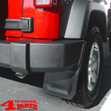 Splash Guard Pair Rear Jeep Wrangler JK year 07-18