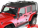 Overhead Roof Rack Kit Sherpa Wrangler JK year 07-18 4-doors