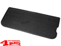 Door Panel Left in Black Vinyl Jeep CJ + Wrangler YJ year 82-95