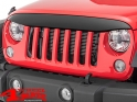 Grille Front Mask NightHawk Light Brow Paintable Wrangler JK year 07-18