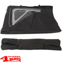 Soft Top Window Storage Bag Wrangler JK JL 07-19 2- or 4-doors