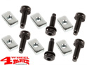 Hardtop Nut and Screw on the body Jeep Wrangler TJ year 97-06