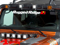 Rugged Ridge Windshield Decal white 75cm x 6cm