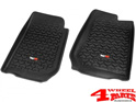 Floor Liner Set Front Black Jeep Wrangler JK year 07-13 RHD