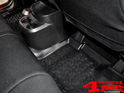 Floor Liner Set Rear Black Jeep Wrangler JK year 07-18 4-doors