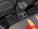 Floor Liner Set Rear Black Jeep Wrangler JL year 18-19 2-doors