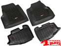 Floor Liner Set 2-pieces Jeep Wrangler TJ year 97-06