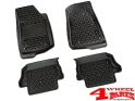 Floor Liner Set 2-pieces Black Wrangler JL year 18-20 2-doors