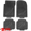 Floor Liner Set 4-pieces Black Universal for Jeep and SUV