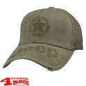 "Base Cap with printed Star and Jeep® script ""Olive"" from Mopar"