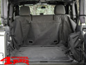 Cargo Cover with side Subwoofer Wrangler JK year 07-14 2-doors