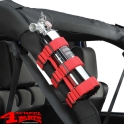 Sport Bar Fire Extinguisher Holder Red Jeep year 76-20