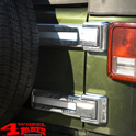 Tailgate Hinge Covers Chrome 4 pce. Wrangler JK year 07-18