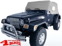 Cab Car Cover Trail Cover Gray Jeep Wrangler YJ TJ year 92-06