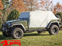 Cab Car Cover Weather Lite Wrangler JK JL 07-19 4-doors