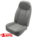 Seat Gray Denim Standardseat Jeep CJ + Wrangler YJ year 76-95