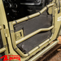 Element Doors Front Cargo Covers Wrangler JK year 07-18 2- or 4-doors