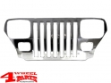 Grille Overlay Applique Stainless Steel Wrangler YJ year 87-95