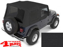 Replacement Soft Top Black Denim with tinted windows YJ year 88-95