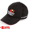 "Base Cap ""Rugged Ridge"" Cotton in Black Red"