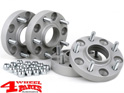 Wheel Spacer Kit 50/60mm with TÜV 4 pce. Wrangler JL year 18-20