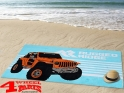 "Beach Towel ""Ready to Rock"" 100% Cotton Jeep Wrangler YJ TJ JK"