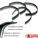 Fender Flares 4 Piece Universal 3,5cm wide universal flexible street legal