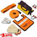 Recovery Kit and Rescue Set incl. 9000kg Recovery Strap