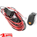 Off Road Light Installation Harness for 1 Floodlight incl. Relais + Switch