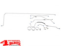 Brake Line Set Complete Jeep CJ5 year 66-71