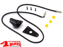 Antenna Base with Cable Black Jeep CJ + Wrangler YJ year 76-95