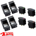 Rocker Switch Housing Kit incl. 4 Switches Wrangler TJ JK year 97-10