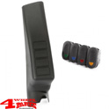 Switch Pod Kit A-Pillar incl. 4 Switches Left Wrangler JK year 11-18