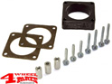 Throttle Body Spacer Kit Wrangler YJ TJ + Cherokee XJ 91-06 2,5 + 4,0 L
