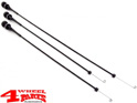 Heater Cable Kit (3 Pieces) Jeep CJ year 76-86