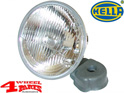 Headlight H4 Jeep CJ + Wrangler TJ + JK year 72-18