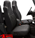 Seat Covers Front Black Diamond Bestop Wrangler TJ year 03-06