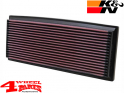 Sport Air Filter K&N Jeep Wrangler YJ year 87-95 2,5 + 4,0 L