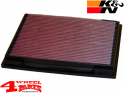 Sport Air Filter K&N Grand Cherokee ZJ year 93-98 2,5 TD + 6 + 8 Cyl.